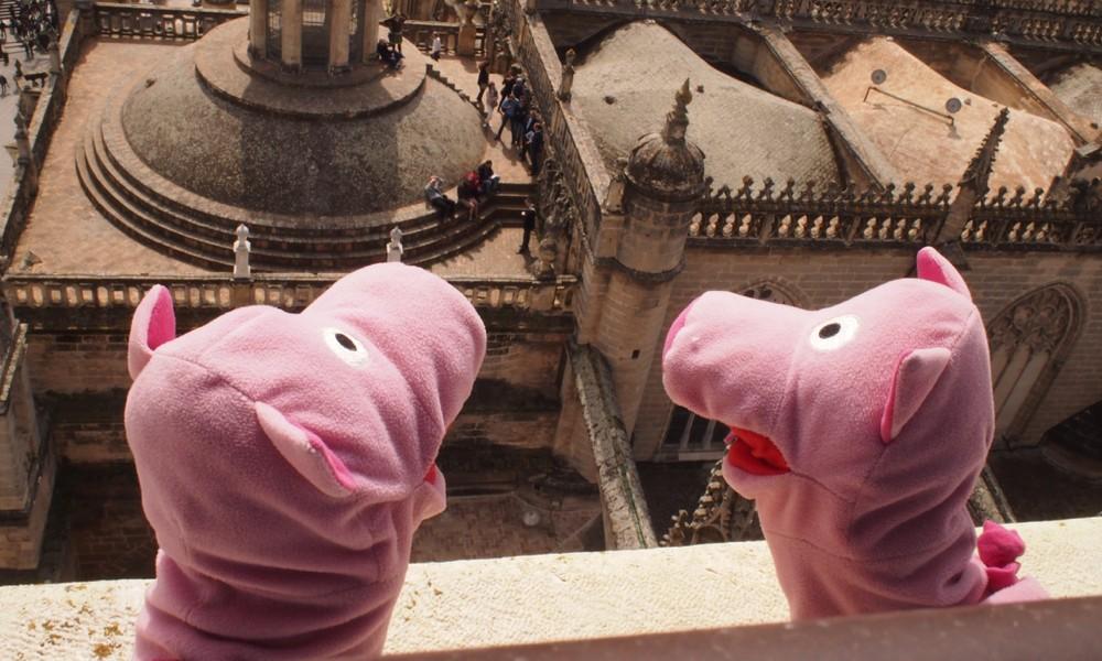 Hoch hinaus: über den Dächern von Sevilla